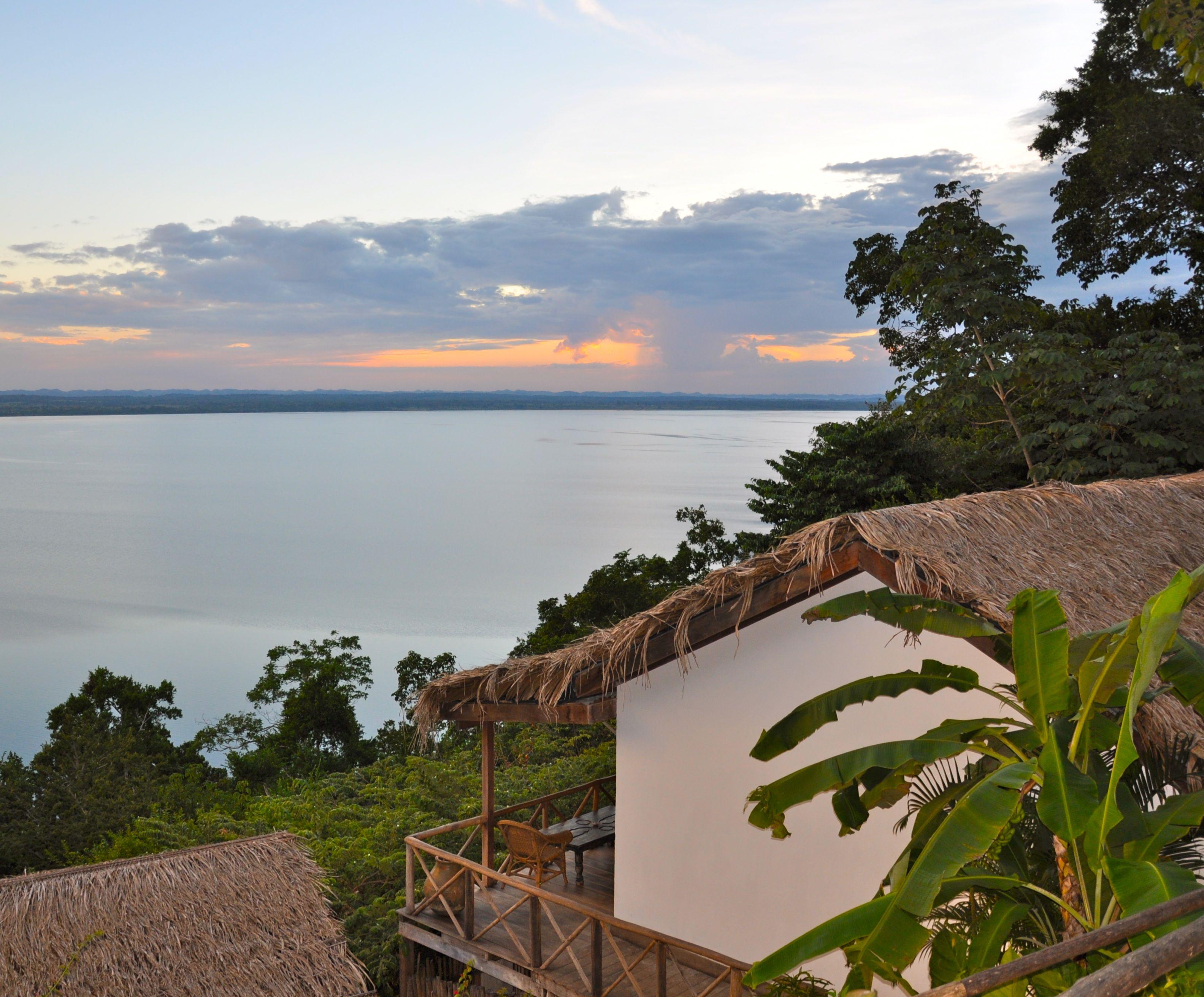 Cabana at La Lancha, Guatemala