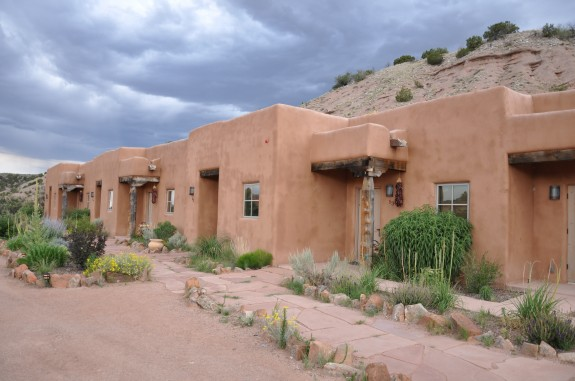 Ojo Caliente hotel in New Mexico.