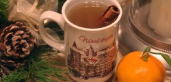 Hot Rum and Bourbon Toddy