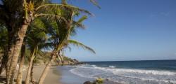 Petit Anse Beach in the morning