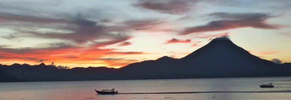 A wild boat trip to San Pedro, Lake Atitlan