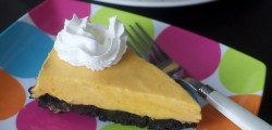mango smoothie pie